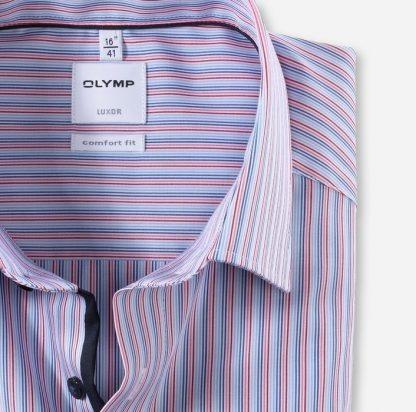 Olymp Fine Stripe Red