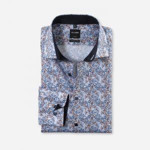 1326 Olymp Paisley Print Shirt