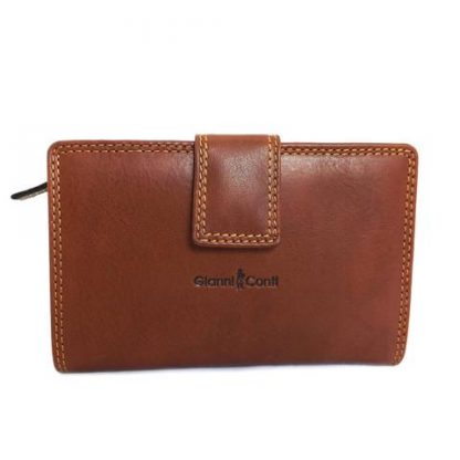 Leather Purse Tan