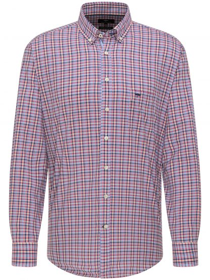 Fynch-Hatton Colourful Summer Check Red