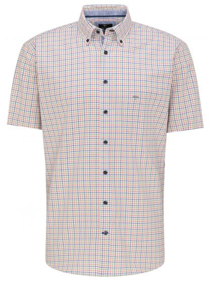 Fynch-Hatton Short Sleeve Cactus Check