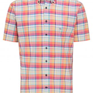 Fynch-Hatton Short Sleeve Madras Check