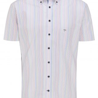 Fynch-Hatton Short Sleeve Multicolour Stripe