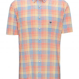 Fynch-Hatton Short Sleeve Orange