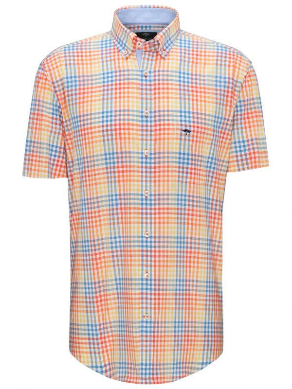 Fynch-Hatton Short Sleeve Orange