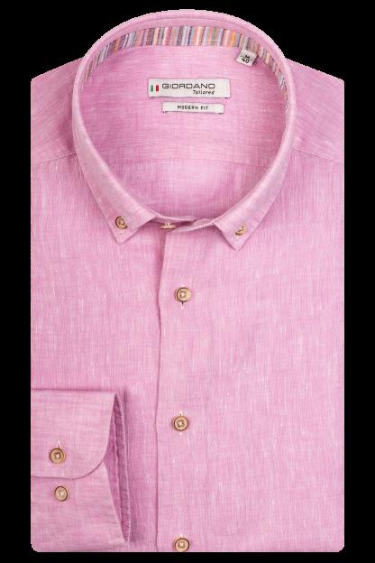 Giordano Linen Pink