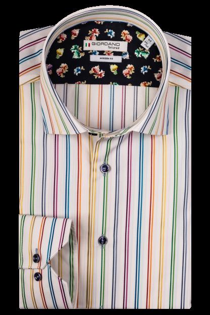 Giordano Ivory Stripe