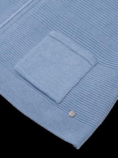 11000718-41079 Zip Cardigan Pocket Detail