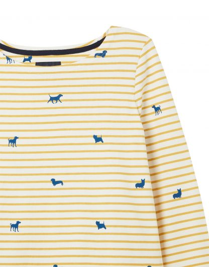 210047 Harbour Print Dog Stripe