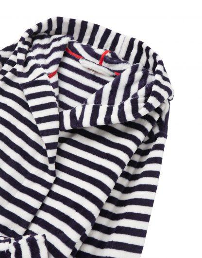 210054_BLUCRMSTRP Joules Rita Dressing Gown