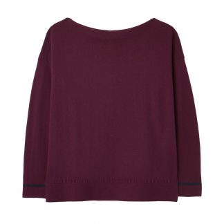 212842 Slash Neck Jumper