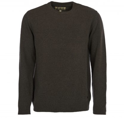 Barbour Nelson Essential Crew Neck Seaweed