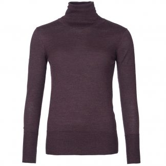 Barbour Norwood Roll Neck Blackberry