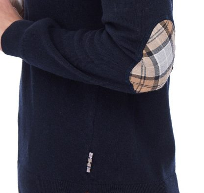 Barbour Pendle Roll Neck Navy