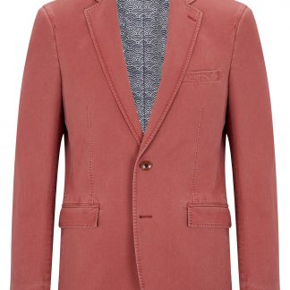 Barcelona Cotton Jacket Brick