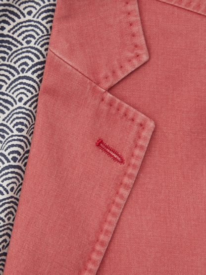 Barcelona Cotton Jacket Brick