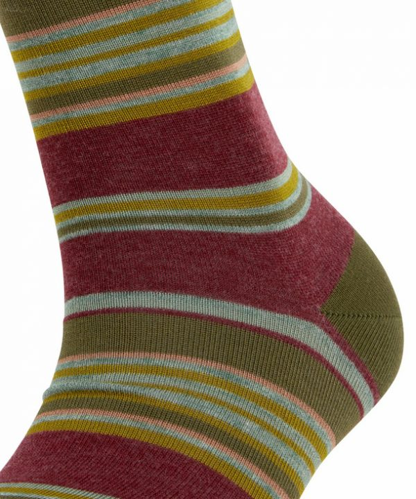 Falke Stripe Socks Green