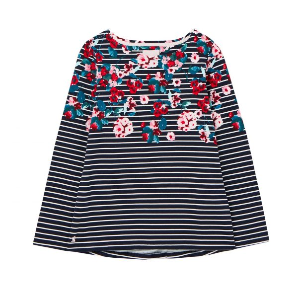 Joules Harbour Print Navy Floral