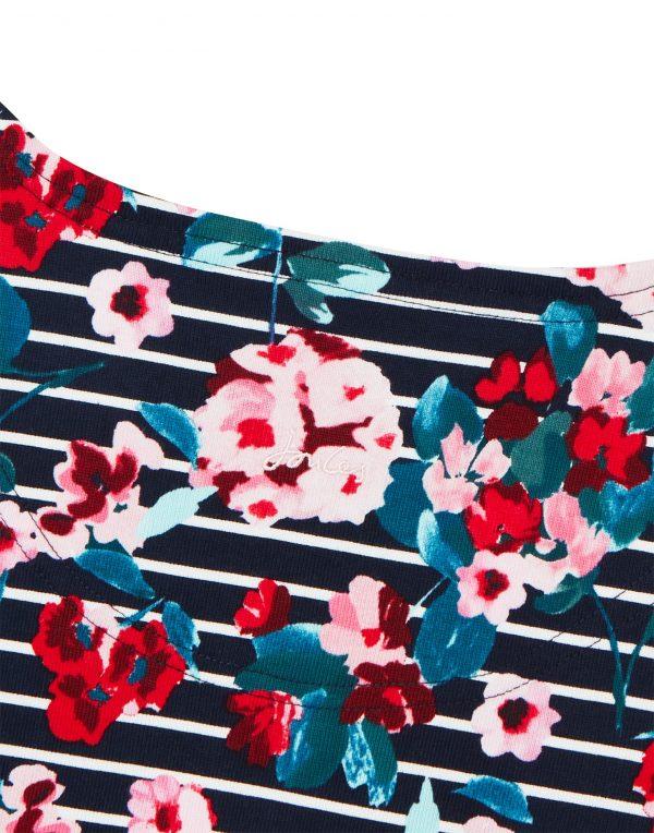 Joules Harbour Print Navy Floral Back