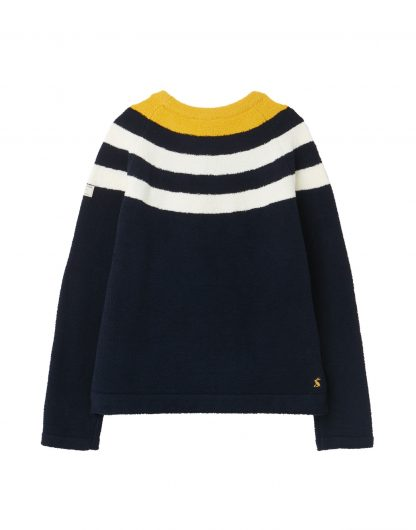 Joules Seaport Chenille Jumper Back