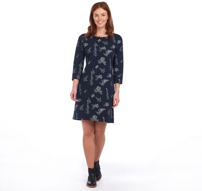 LDR0375NY76 Barbour Siskin Print Dress