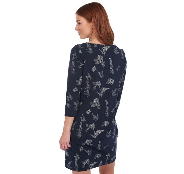 LDR0375NY76 Barbour Siskin Print Dress