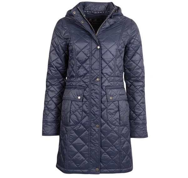 LQU1230NY71 Barbour Jenkins Quilted Coat
