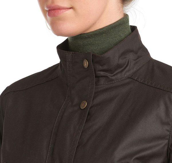 LWX1078RU91 Barbour Montgomery Wax Coat