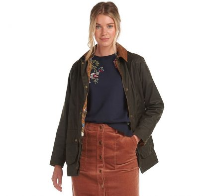 LWX1082OL71 Barbour Laura Ashley Poplars Coat