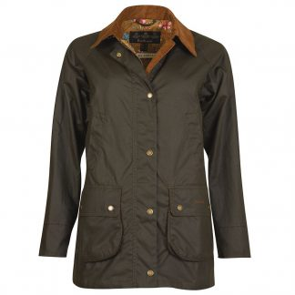LWX1082OL71 Barbour Poplars Wax Coat