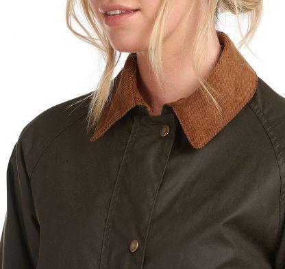 LWX1082OL71 Barbour Poplars Wax Coat