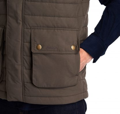 MGI0056SG91 Bradford Quilted Gilet Forest