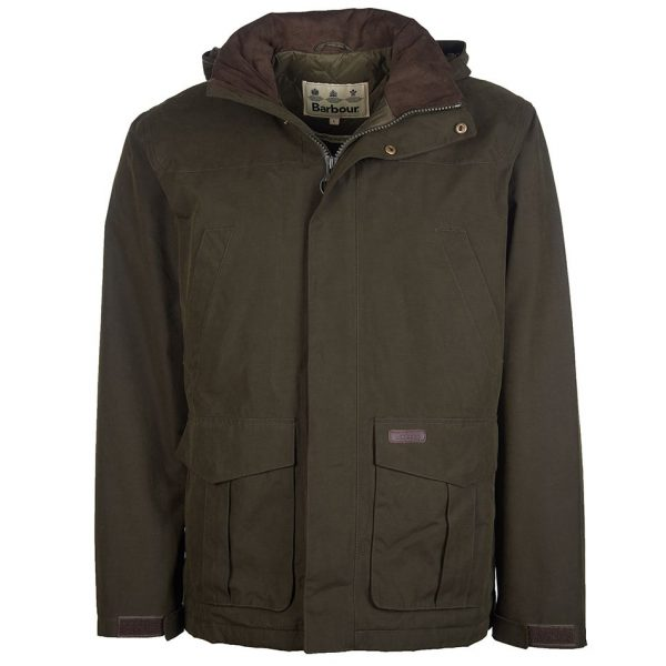 MWB0812OL71 Brockstone Waterproof Coat Olive