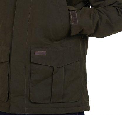 MWB0812OL71 Brockstone Waterproof Coat Olive
