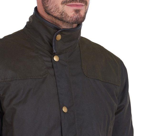MWX1684OL71 Hartlington Was Jacket Olive