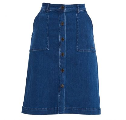 Barbour Maddison Denim Skirt