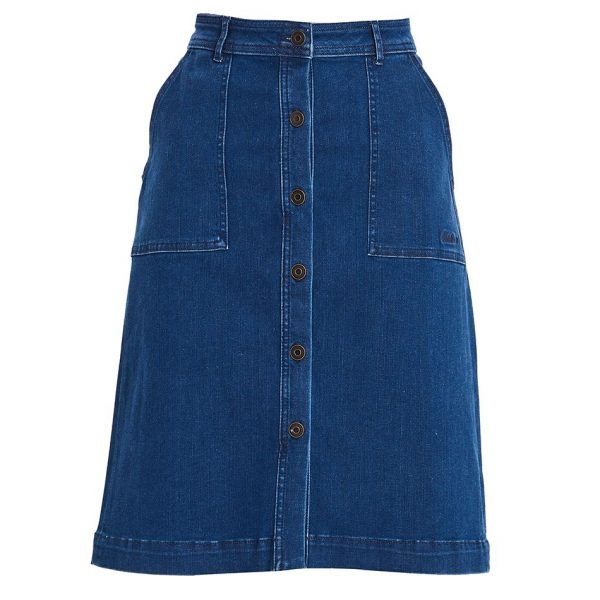 Barbour Maddison Denim Skirt