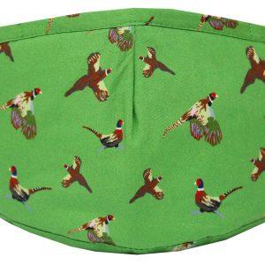 Pheasant Facemask Green