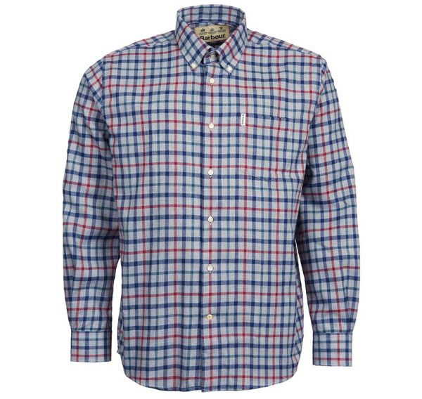 Barbour Thermo Coll Grey