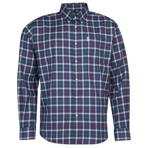 Barbour Thermo Coll Navy