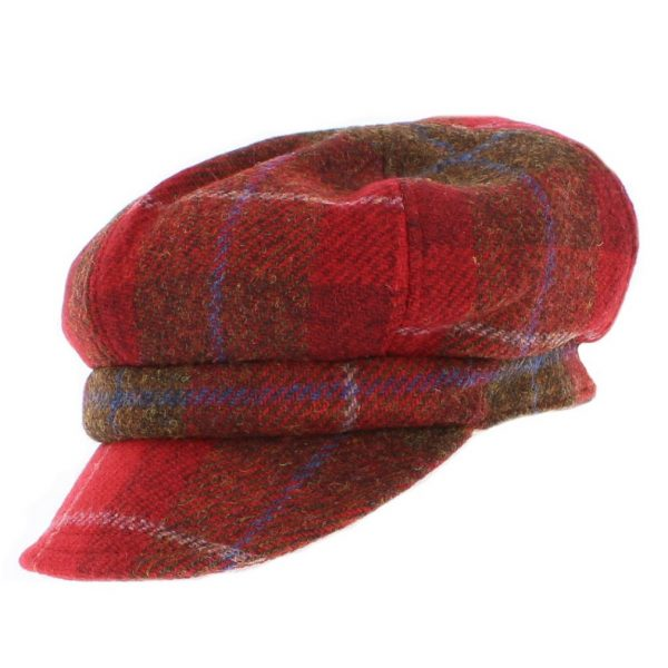 Failsworth Ladies' Harris Tweed Bakerboy Cap