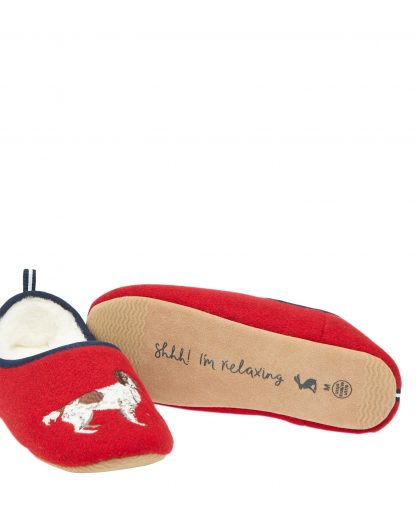 212471_REDWALKIES Joules Slippers