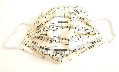 Music Score Facemask