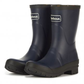 Barbour Banbury Boots Navy