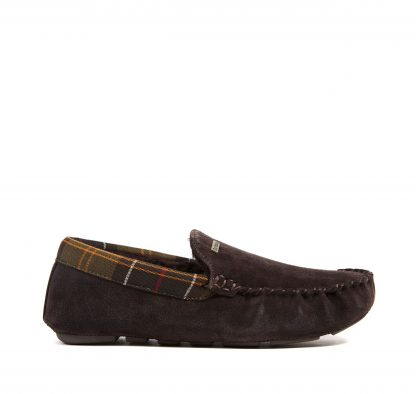 Barbour Monty Slippers Brown