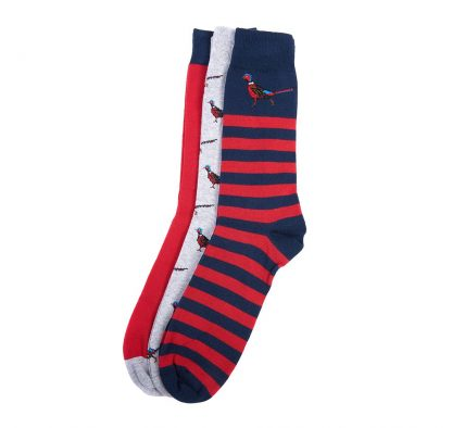 Barbour Pheasant Socks Multi-Pack