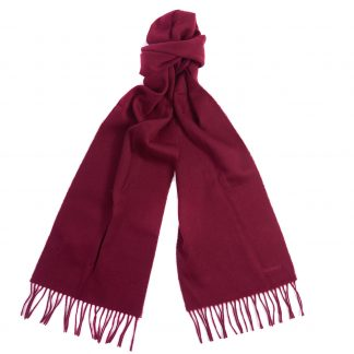 Barbour Scarf burgundy