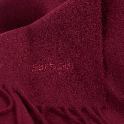 Barbour Scarf burgundy