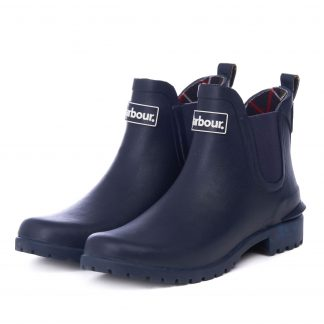 Barbour Wilton Wellingtons Navy