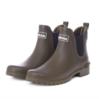 Barbour Wilton Wellingtons Olive